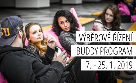 Výběrové řízení do Buddy programu