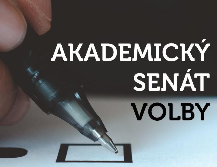 Vyhlášení voleb do Akademického senátu Fakulty managementu VŠE a seznam kandidátů