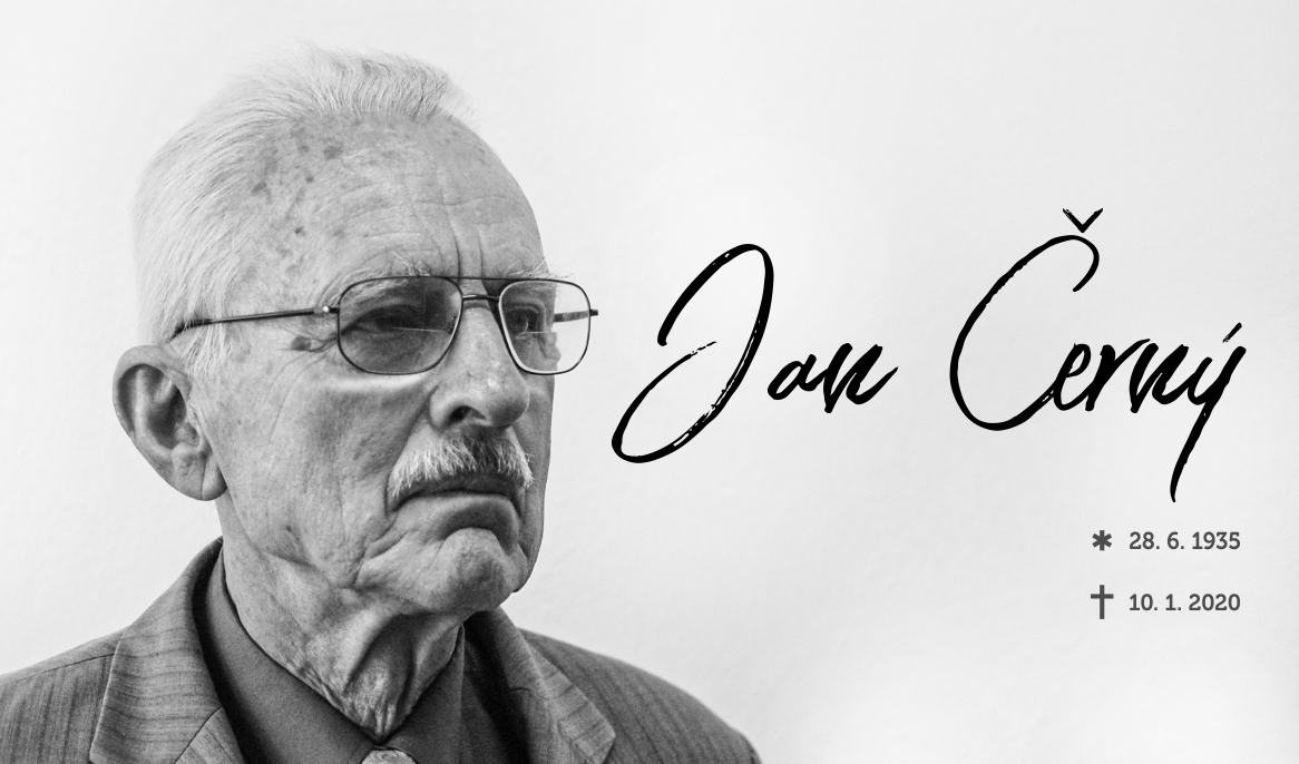 Zemřel prof. RNDr. Jan Černý, DrSc., dr. h. c.